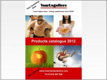 Catalogues and fliers for health products