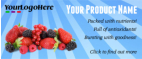 Website banner design to advertise your company or products